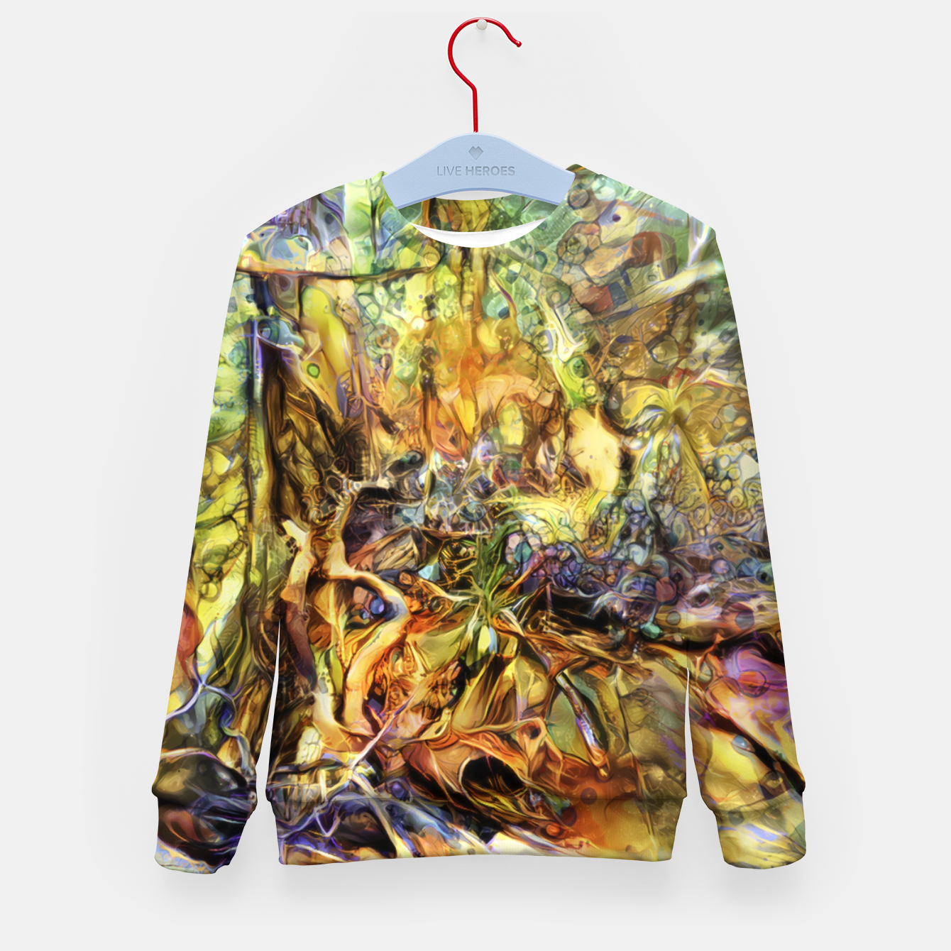 Image of Tree Kid's sweater - Live Heroes