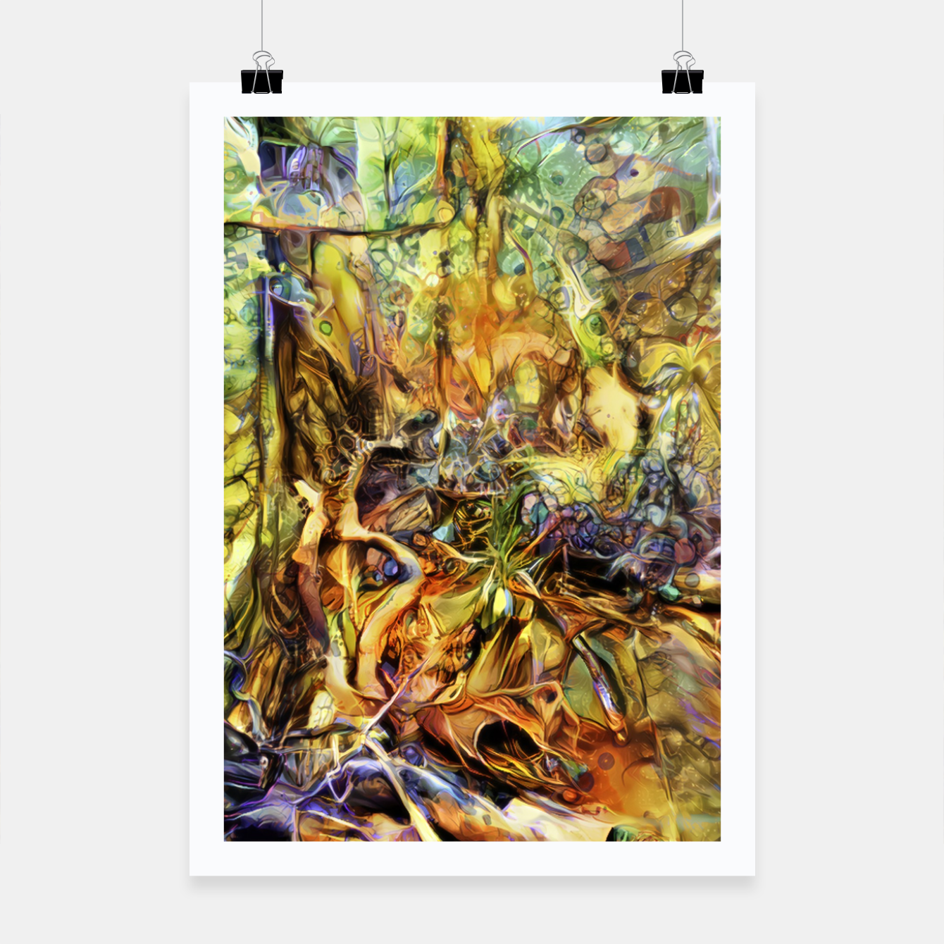 Image of Tree Poster - Live Heroes