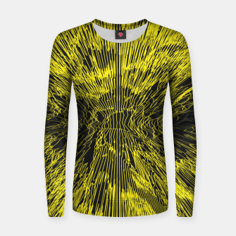 Thumbnail image of yellow Women sweater, Live Heroes