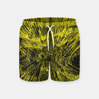Miniature de image de yellow Swim Shorts, Live Heroes