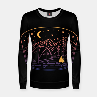 Thumbnail image of Camp Fire Line Women sweater, Live Heroes