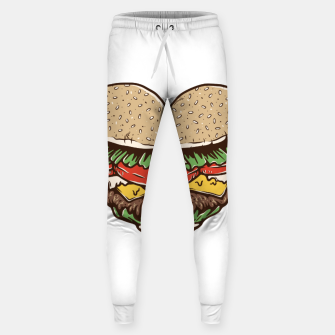 Miniature de image de Hamburger Lover Sweatpants, Live Heroes