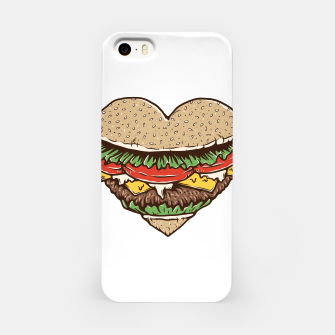 Hamburger Lover iPhone Case imagen en miniatura