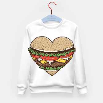 Hamburger Lover Kid's sweater imagen en miniatura