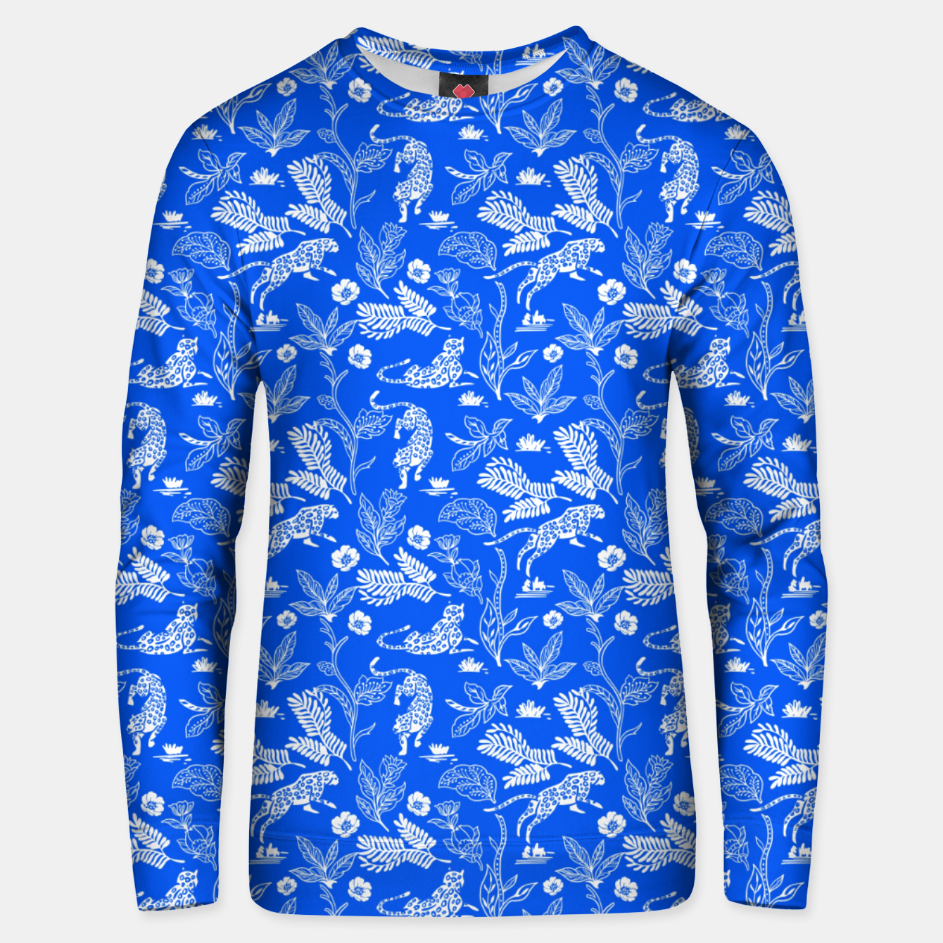 Foto Animals in the jungle blue Sudadera unisex - Live Heroes