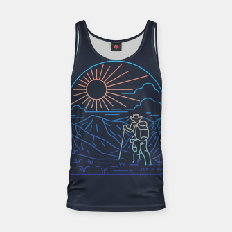 Thumbnail image of Hiker Line Tank Top, Live Heroes