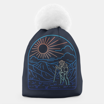 Thumbnail image of Hiker Line Beanie, Live Heroes