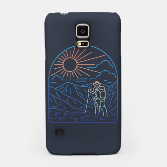 Thumbnail image of Hiker Line Samsung Case, Live Heroes