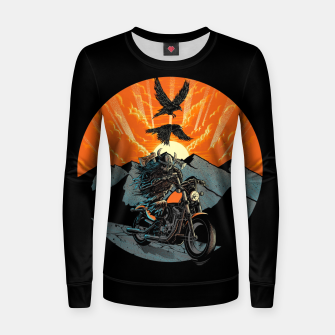Thumbnail image of Viking Rider Women sweater, Live Heroes
