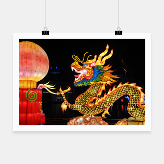 Thumbnail image of Magic Dragon Affiche, Live Heroes