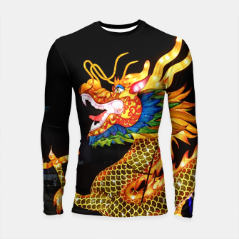 Thumbnail image of Magic Dragon Longsleeve rashguard , Live Heroes