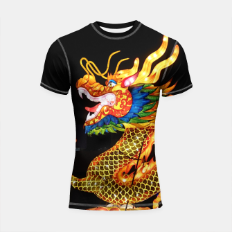 Thumbnail image of Magic Dragon Shortsleeve rashguard, Live Heroes