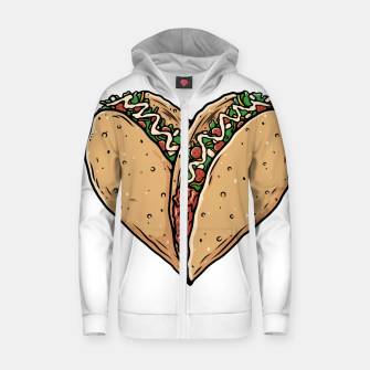 Tacos Lover Zip up hoodie thumbnail image