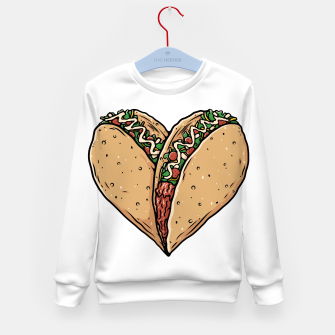 Tacos Lover Kid's sweater thumbnail image