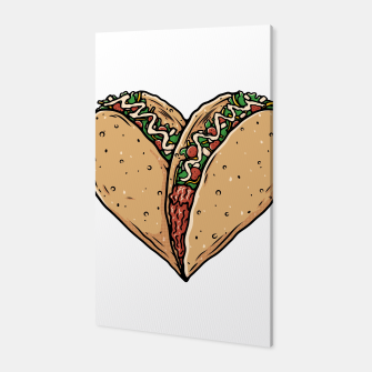 Tacos Lover Canvas thumbnail image