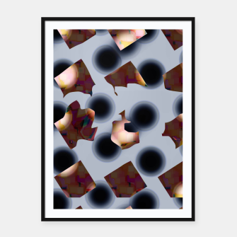 Thumbnail image of dots Framed poster, Live Heroes