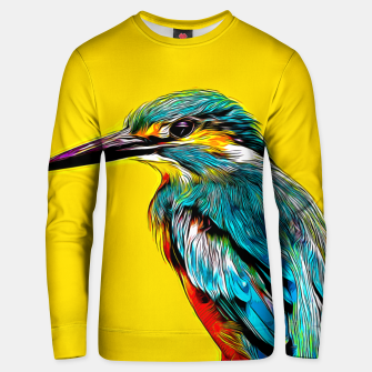 Kingfisher v2 vastd Unisex sweater thumbnail image