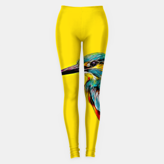 Kingfisher v2 vastd Leggings thumbnail image