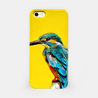 Miniaturka Kingfisher v2 vastd iPhone Case, Live Heroes