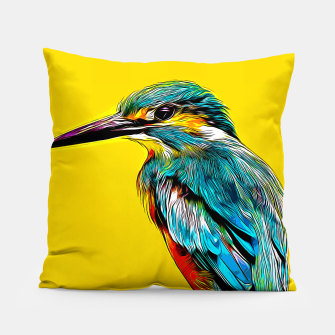 Thumbnail image of Kingfisher v2 vastd Pillow, Live Heroes