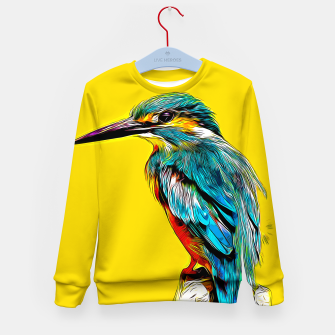 Miniaturka Kingfisher v2 vastd Kid's sweater, Live Heroes