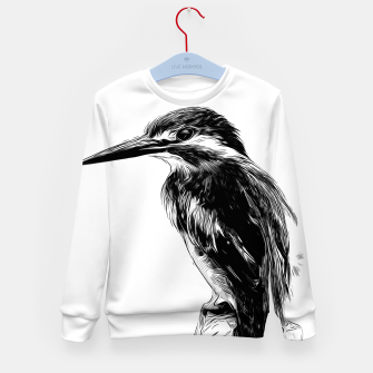 Miniature de image de Kingfisher v2 vawh Kid's sweater, Live Heroes