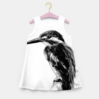 Miniaturka Kingfisher v2 vawh Girl's summer dress, Live Heroes