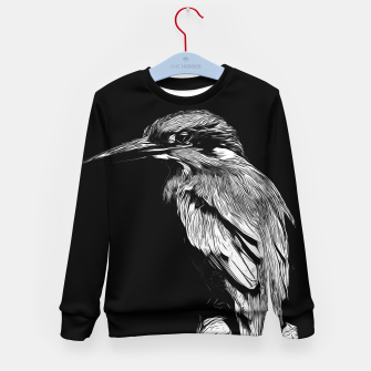 Miniature de image de Kingfisher v2 vabw Kid's sweater, Live Heroes