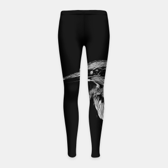 Thumbnail image of Kingfisher v2 vabw Girl's leggings, Live Heroes