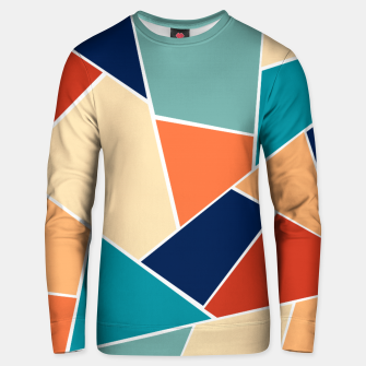 Retro Summer Geometric Glam #1 #geo #decor #art  Unisex sweatshirt obraz miniatury