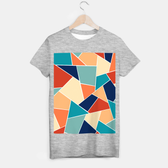 Retro Summer Geometric Glam #1 #geo #decor #art  T-Shirt regulär obraz miniatury
