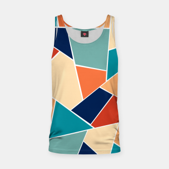 Retro Summer Geometric Glam #1 #geo #decor #art  Muskelshirt  obraz miniatury