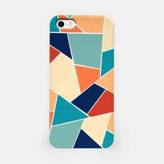 Retro Summer Geometric Glam #1 #geo #decor #art  iPhone-Hülle obraz miniatury