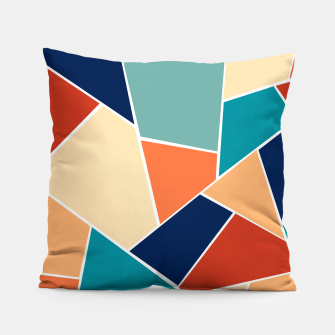 Retro Summer Geometric Glam #1 #geo #decor #art  Kissen obraz miniatury