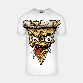 Pizza Monster T-shirt Bild der Miniatur