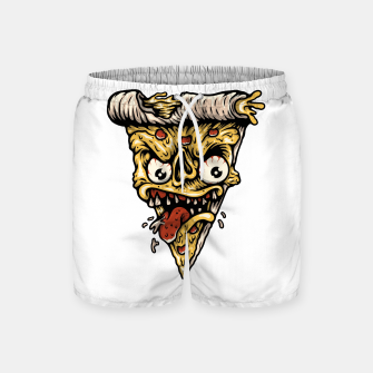 Pizza Monster Swim Shorts Bild der Miniatur