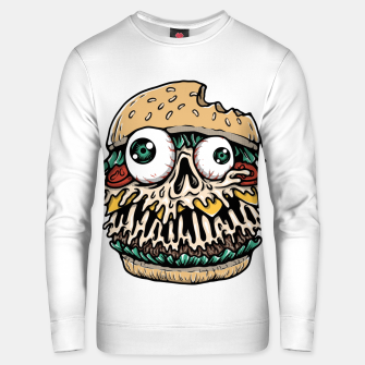 Hamburger Monster Unisex sweater Bild der Miniatur