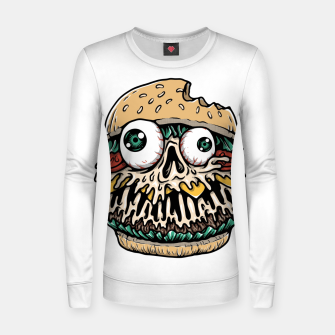 Hamburger Monster Women sweater Bild der Miniatur