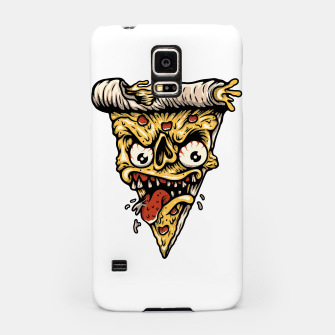 Pizza Monster Samsung Case Bild der Miniatur