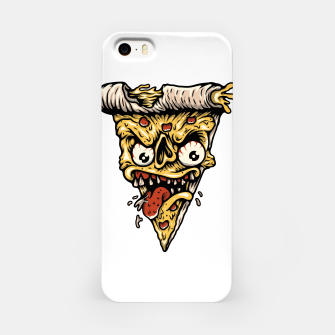 Miniatur Pizza Monster iPhone Case, Live Heroes