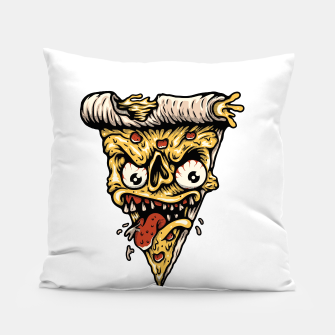Pizza Monster Pillow Bild der Miniatur
