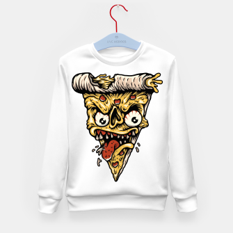 Pizza Monster Kid's sweater Bild der Miniatur