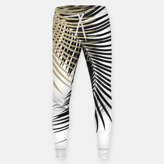 Miniaturka Palm Leaves Gold & Black Vibes #1 #tropical #decor #art  Hosen, Live Heroes