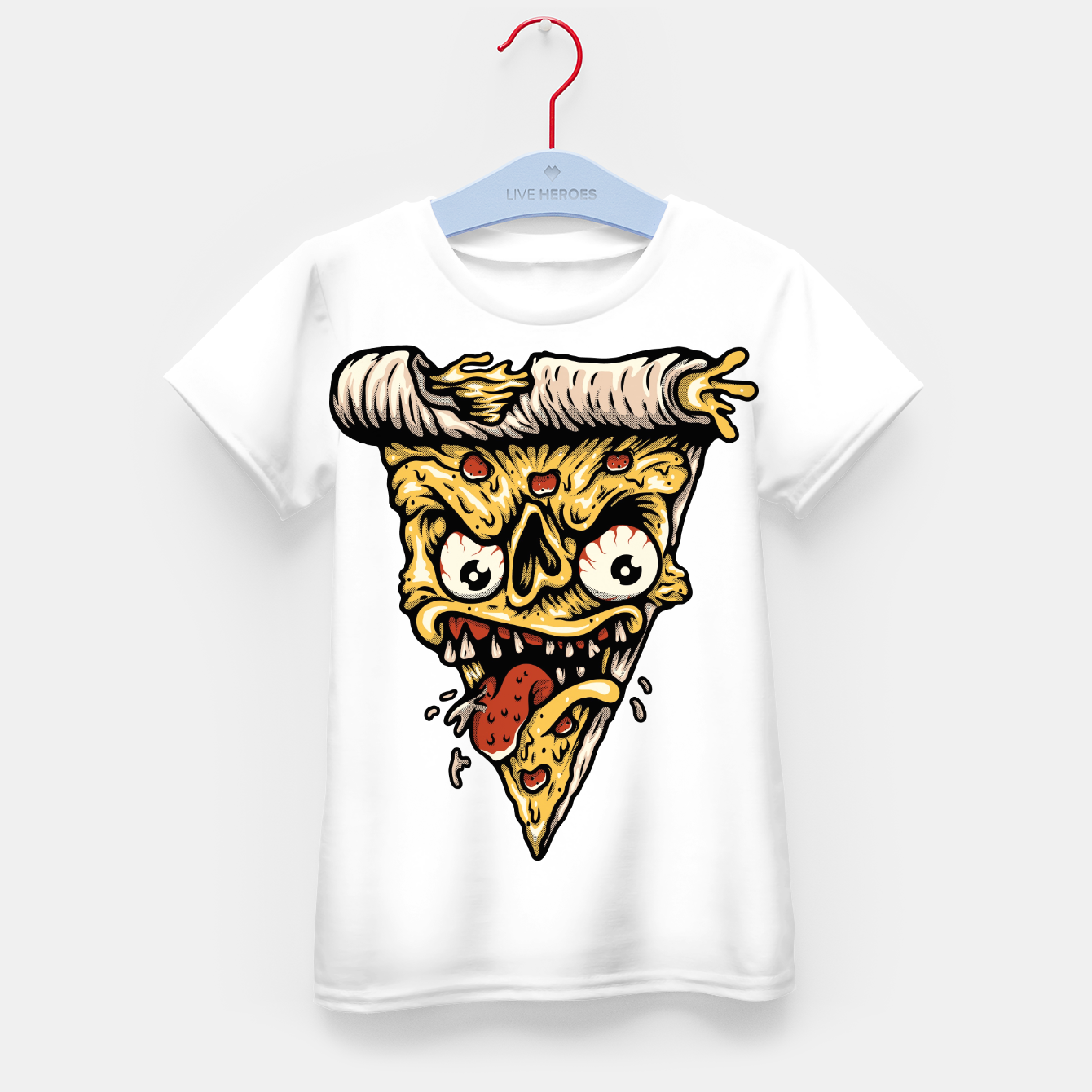 Foto Pizza Monster Kid's t-shirt - Live Heroes