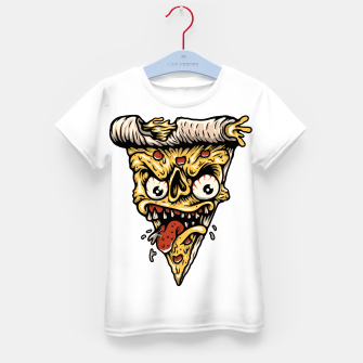 Pizza Monster Kid's t-shirt Bild der Miniatur