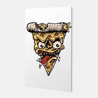Miniatur Pizza Monster Canvas, Live Heroes