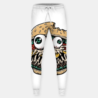 Miniatur Hamburger Monster Sweatpants, Live Heroes