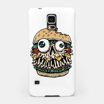 Hamburger Monster Samsung Case Bild der Miniatur