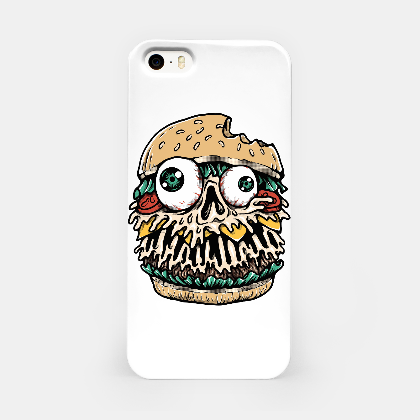 Foto Hamburger Monster iPhone Case - Live Heroes