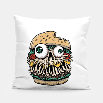 Hamburger Monster Pillow Bild der Miniatur